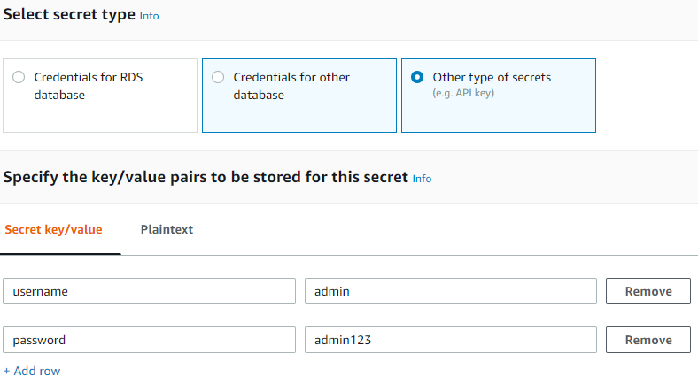 How to manage any kind of secret with AWS Secrets Manager